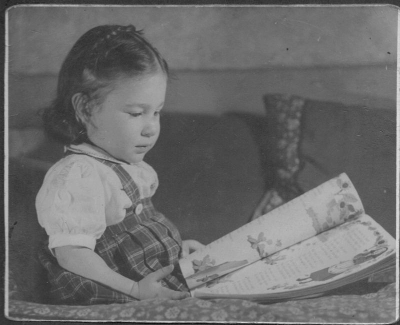Dorothy Friedman at 18 months